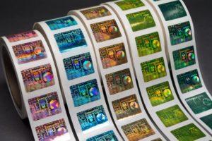 best holographic labels