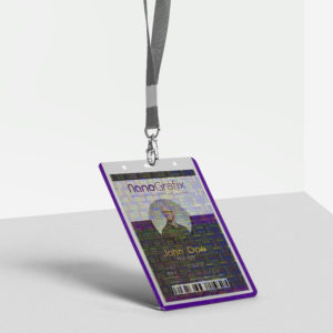 ID Card Holographic Overlays