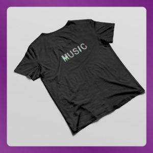Textile Hologram on Shirt