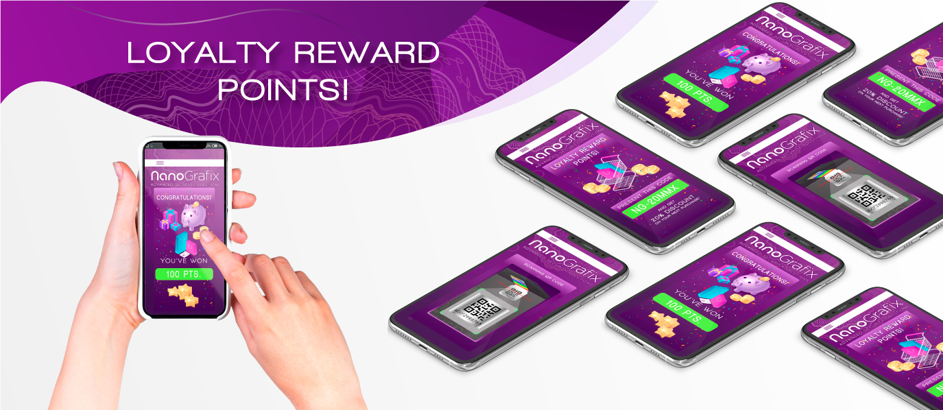 Authentication App Loyalty Rewards Points